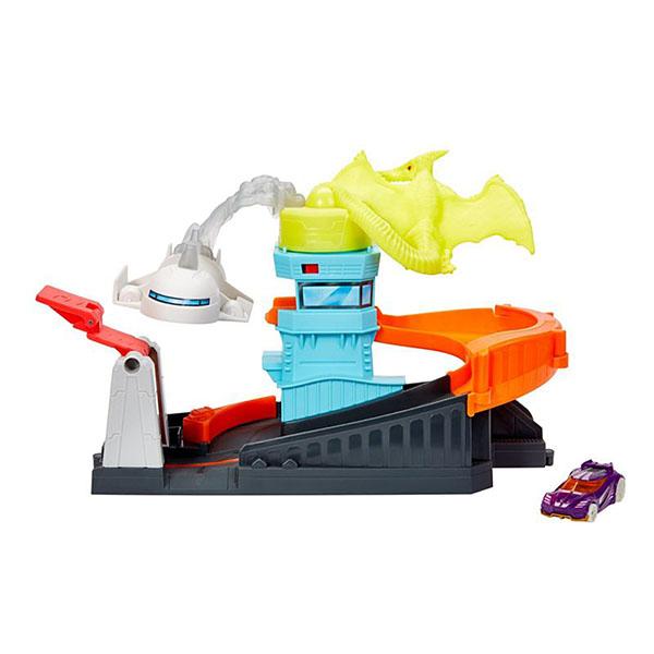 Купить Mattel Hot Wheels GBF94 Хот Вилс Игровой набор с монстрами-злодеями (в ассортименте), Игровые наборы и фигурки для детей Mattel Hot Wheels
