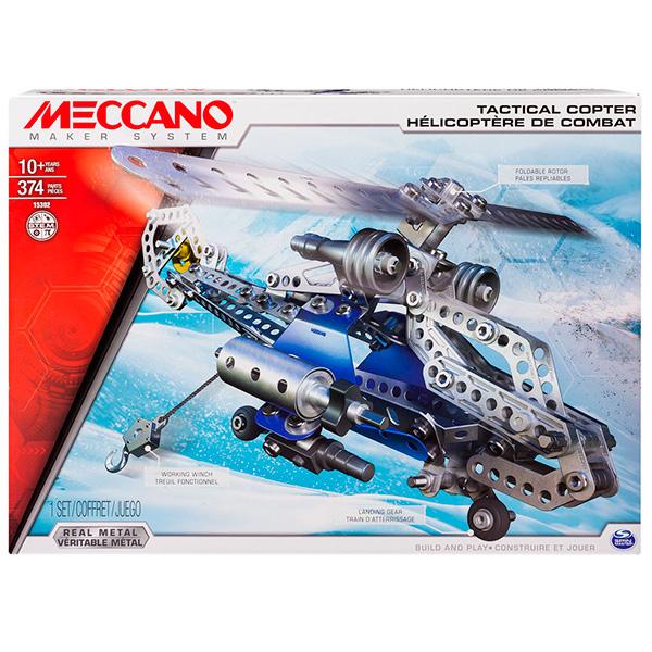 Meccano 91733 Меккано Набор Боевой вертолёт (2 модели)