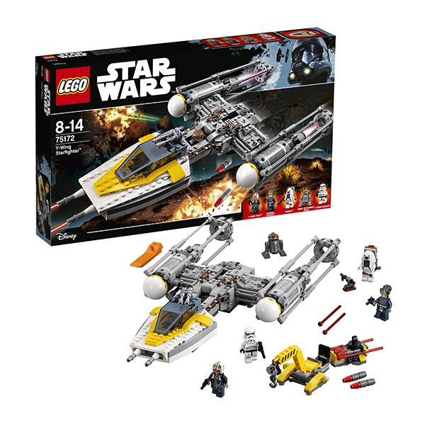 Lego Star Wars 75172 Конструктор Лего Звездные Войны Звёздный истребитель типа Y, арт:145347 - Звездные войны, Конструкторы LEGO