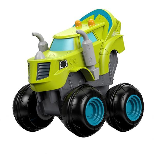Mattel Blaze DTK31 Вспыш и чудо-машинки, Зэг, арт:144357 - Машинки из мультфильмов, Транспорт