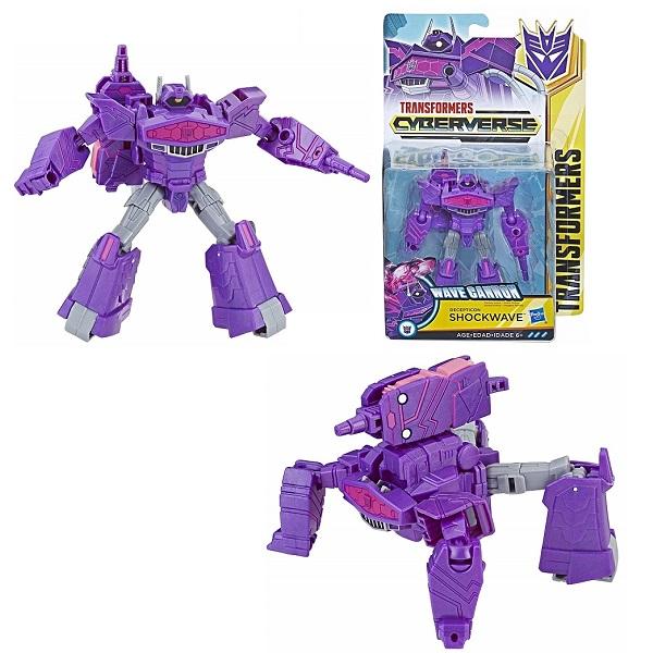 Hasbro Transformers E1884/E1903 Трансформер КИБЕРВСЕЛЕННАЯ 14 см Шоквейв, арт:155417 - Трансформеры, Игровые наборы