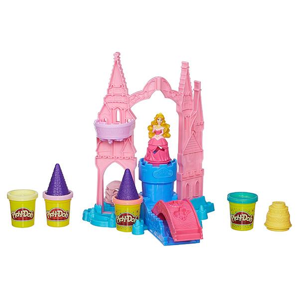 Купить Hasbro Play-Doh A6881 Игровой набор пластилина Чудесный замок Авроры , Пластилин Hasbro Play-Doh