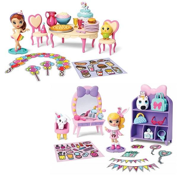 Party Popteenies 46802 Коробка с сюрпризом, арт:155169 - Любимые герои, Игровые наборы