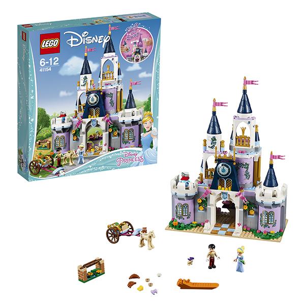 Lego Disney Princess 41154 Конструктор Лего Принцессы Дисней Волшебный замок Золушки