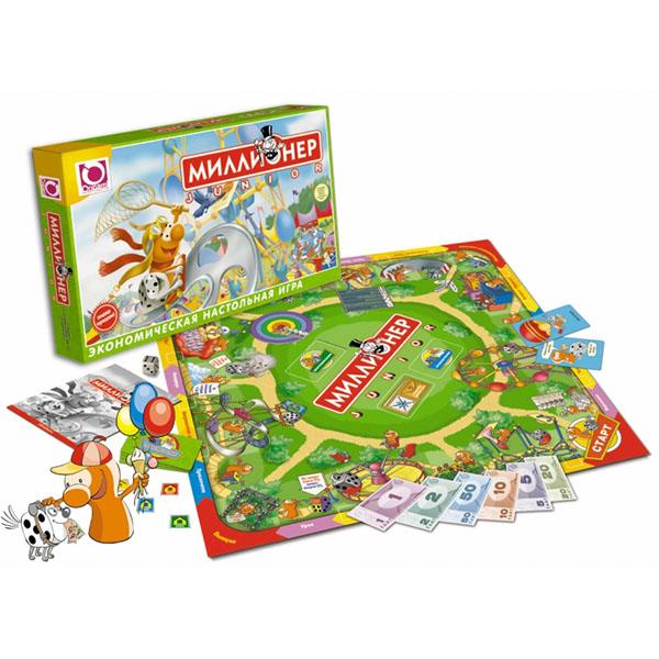 Купить Origami OR00110 Настольная игра Миллионер-юниор , Настольные игры Оригами