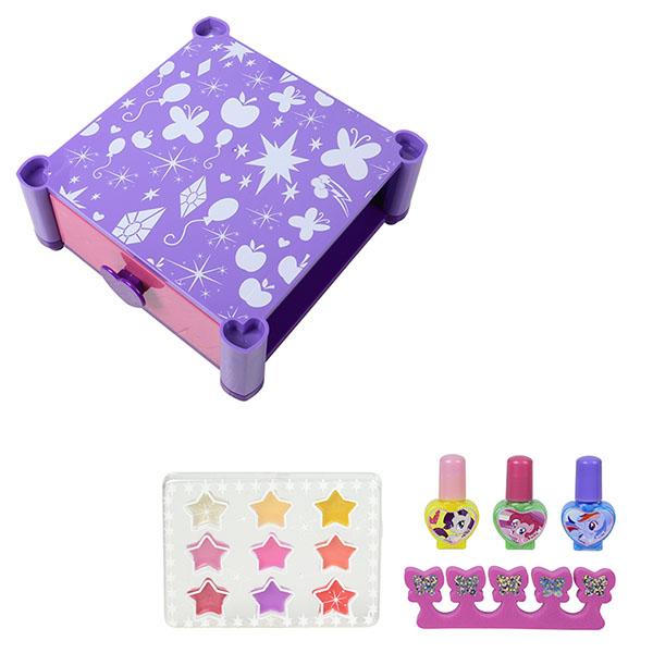 Markwins 9711351 My Little Pony Игровой набор детской декоративной косметики для губ и ногтей