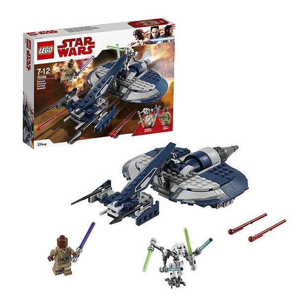 Купить Lego Star Wars 75199 Лего Звездные Войны Боевой спидер генерала Гривуса, Конструкторы LEGO