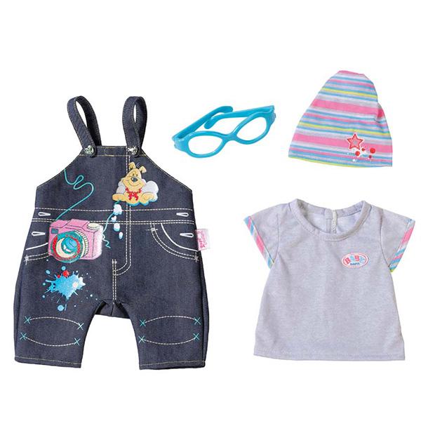 Zapf Creation Baby born 822-210 Бэби Борн Одежда Джинсовая в ассортименте