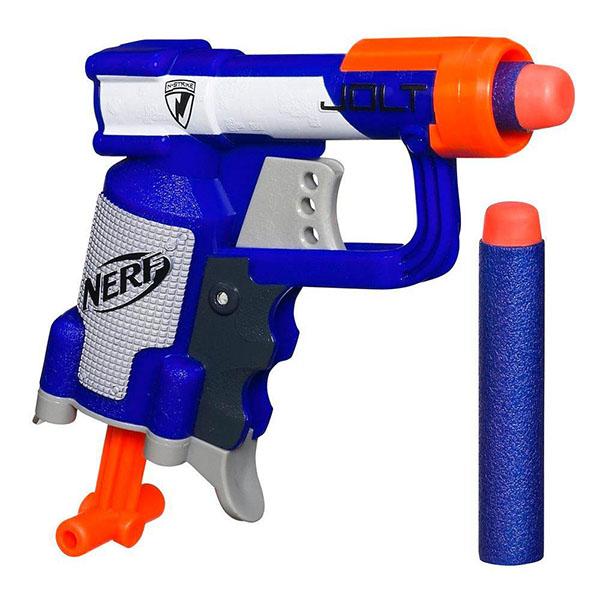 Купить Hasbro Nerf A0707 Нерф Бластер Элит Джолт, Игрушечное оружие Hasbro Nerf