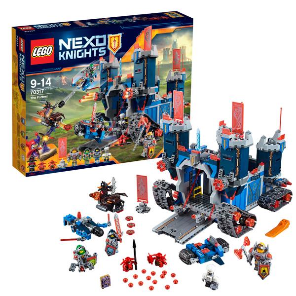 Купить Lego Nexo Knights 70317 Конструктор Лего Нексо Фортрекс - мобильная крепость, Конструктор LEGO