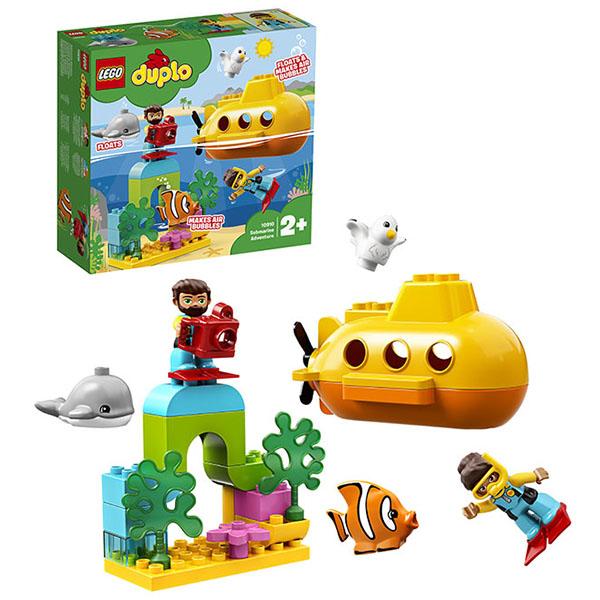 Купить LEGO DUPLO 10910 Конструктор ЛЕГО ДУПЛО Путешествие субмарины, Конструктор LEGO