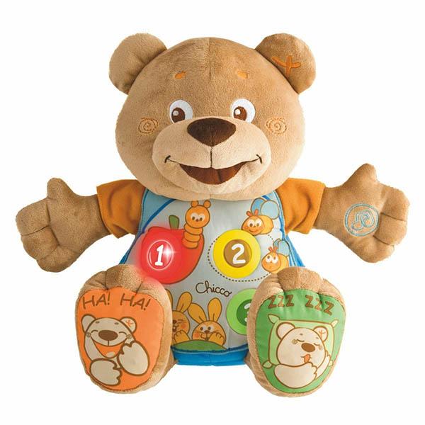 Купить CHICCO TOYS 60014A Игрушка мягкая музыкальная Мишка , Развивающие игрушки для малышей CHICCO TOYS
