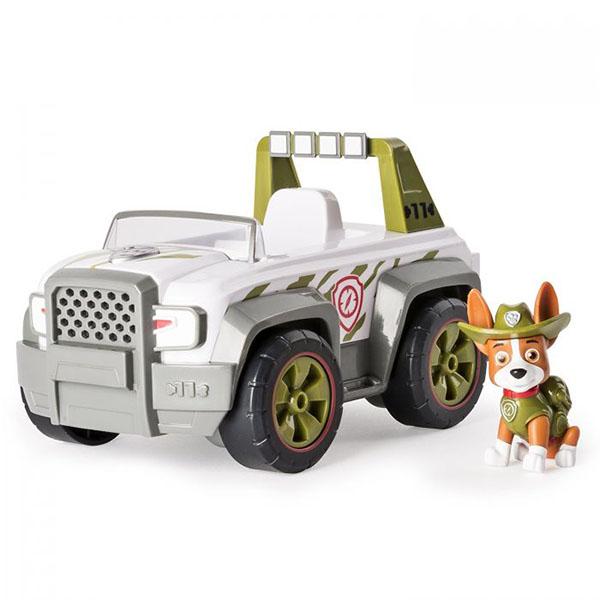 Paw Patrol 16601-Track Щенячий патруль Машинка спасателя и щенок, арт:152520 - Любимые герои, Игровые наборы