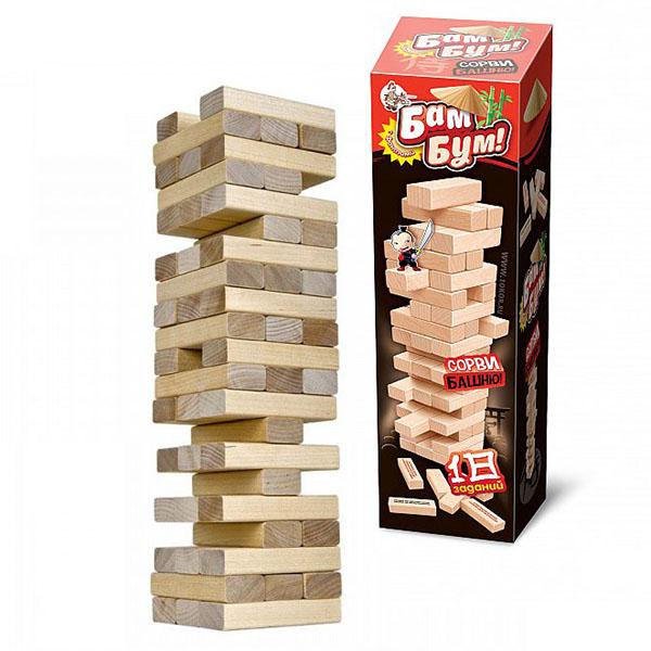 Купить Десятое королевство TD01741 Игра для детей и взрослых Бам-бум (падающая башня), Настольные игры Десятое Королевство