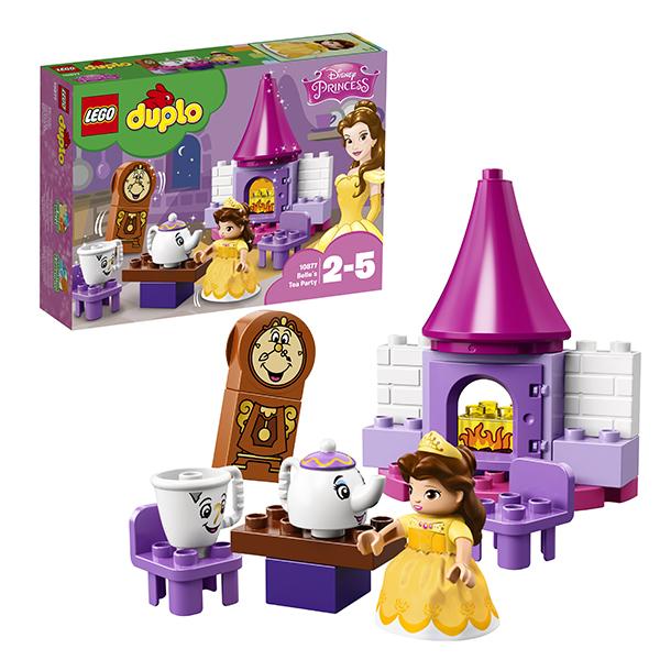 Купить LEGO DUPLO 10877 Конструктор ЛЕГО ДУПЛО Чаепитие у Белль, Конструкторы LEGO