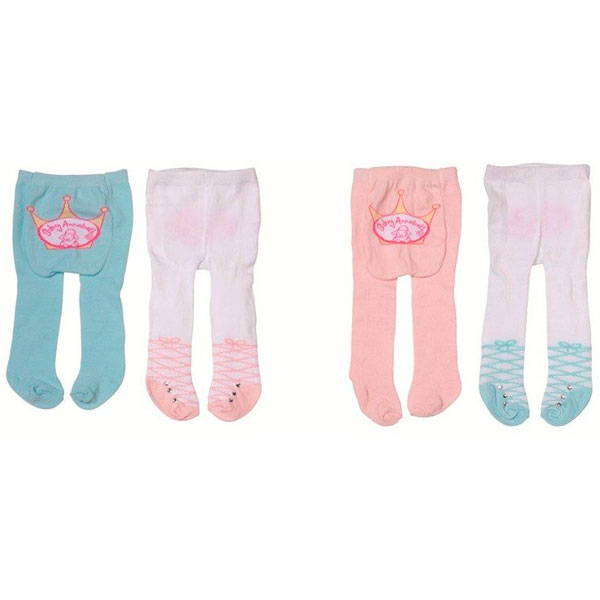 Купить Zapf Creation Baby Annabell 792-261 Бэби Аннабель Колготки 2 пары (в ассортименте), Одежда для куклы Zapf Creation