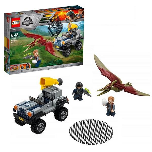 Купить LEGO Jurassic World 75926 Конструктор ЛЕГО Мир Юрского Периода Погоня за птеранодоном, Конструкторы LEGO