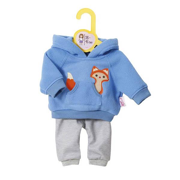 Zapf Creation my mini Baby born® 870-136 Бэби Борн Одежда для кукол высотой 38-46 см, голубая