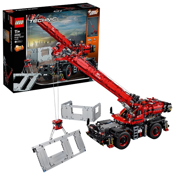 Купить Lego Technic 42082 Конструктор Лего Техник Подъёмный кран для пересечённой местности, Конструкторы LEGO