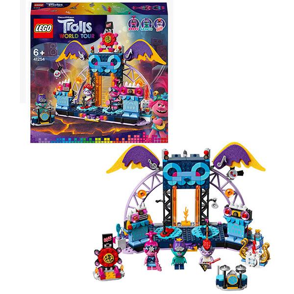 Купить LEGO Trolls 41254 Конструктор ЛЕГО Тролли Концерт в городе Рок-на-Вулкане, Конструкторы LEGO