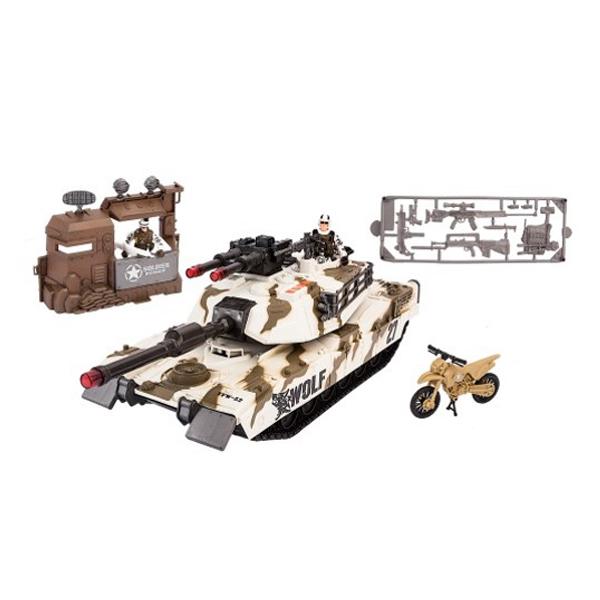 Купить Chap Mei 540053 Набор: Тундровый патрульный танк, Игровые наборы Chap Mei