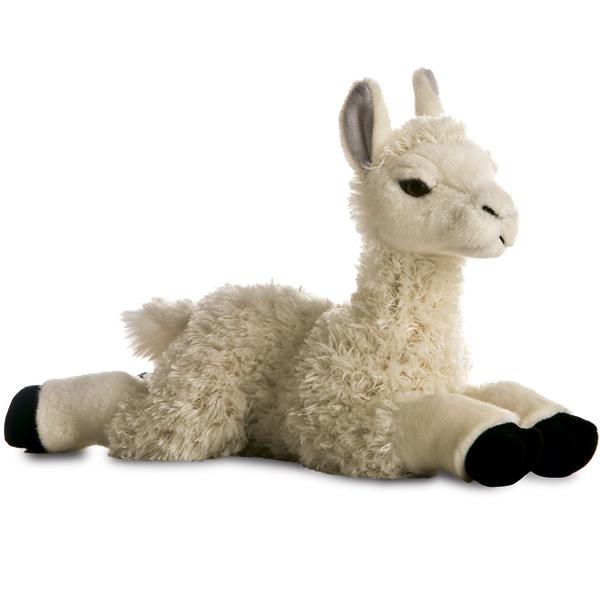 Купить Aurora 170863B Лама, 25 см, Мягкая игрушка Aurora