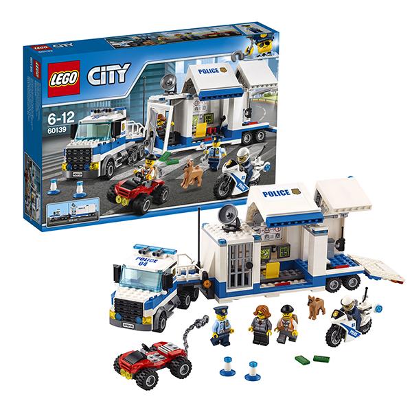 Конструктор LEGO LEGO City 60139 Конструктор ЛЕГО Город Мобильный командный центр по цене 2 379