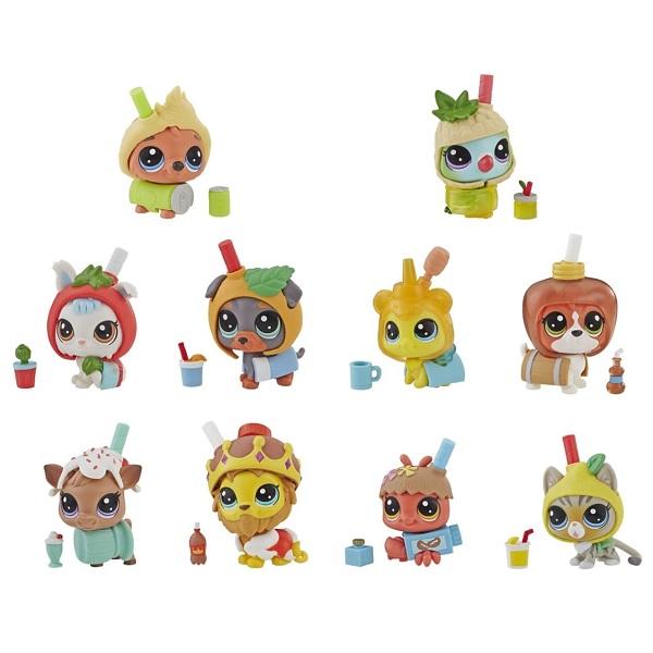 Купить Hasbro Littlest Pet Shop E5479 Литлс Пет Шоп Игровой набор Игрушка пет в напитке (в ассортименте), Игровые наборы и фигурки для детей Hasbro Littlest Pet Shop