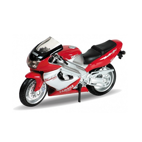 Купить Welly 12154P Велли Модель мотоцикла 1:18 MOTORCYCLE / YAMAHA 2001 YZF1000R THUNDERACE, Мотоцикл Welly