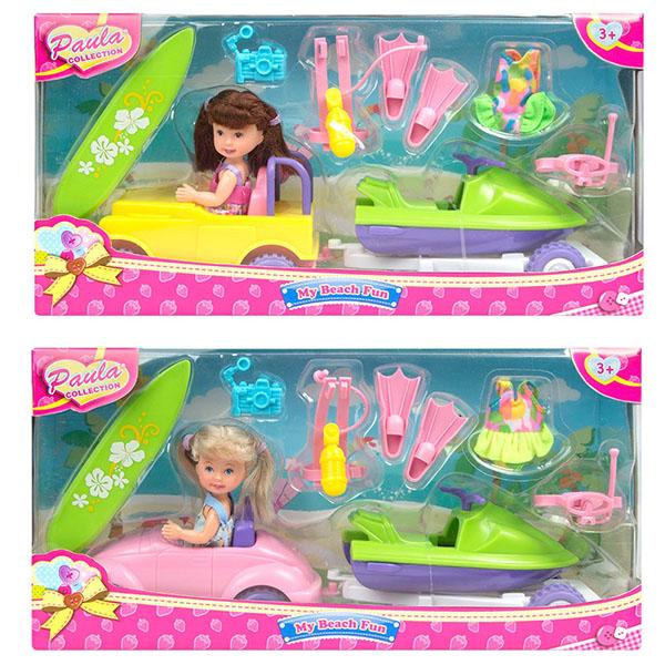 Купить Paula MC23051 Игровой набор Едем на море (в ассортименте), Игровые наборы и фигурки для детей Paula