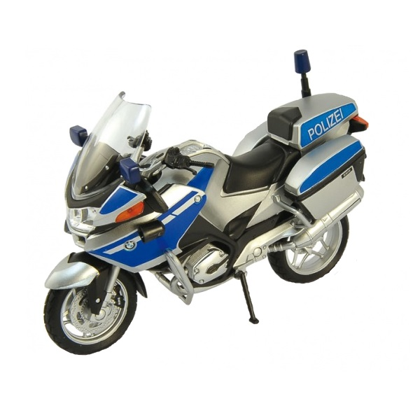 Welly 12811P Велли Модель мотоцикла BMW R1200RT Полиция
