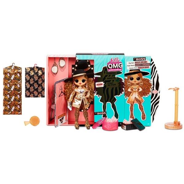 L.O.L. Surprise 567219 Кукла OMG 3 серия-Da Boss по цене 5 449