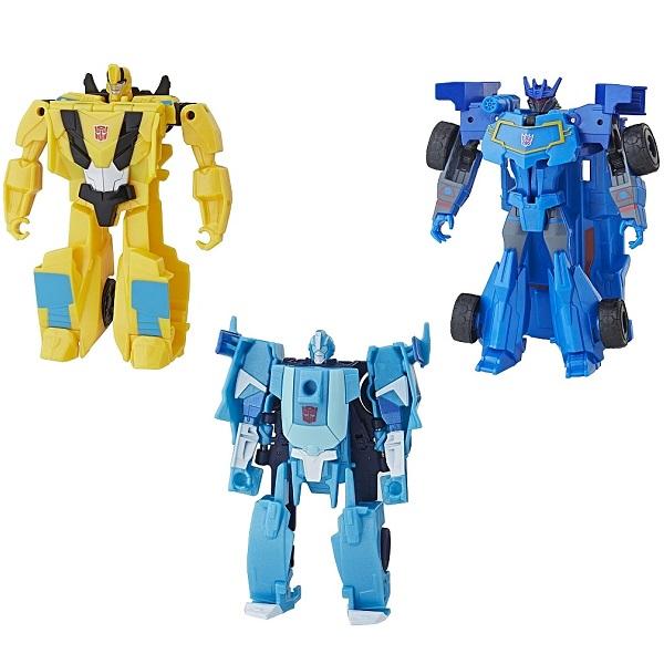 Купить Hasbro Transformers E3522 Трансформер Кибервсел Уан Степ (в ассортименте), Фигурка трансформер Hasbro Transformers
