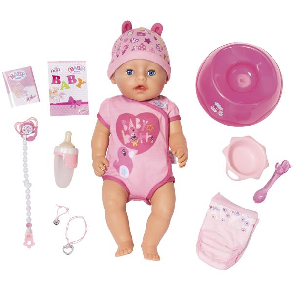 Купить Zapf Creation Baby born 825-938 Бэби Борн Кукла Интерактивная, 43 см, Куклы и пупсы Zapf Creation