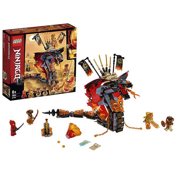 Конструкторы LEGO — LEGO Ninjago 70674 Конструктор ЛЕГО Ниндзяго Огненный кинжал