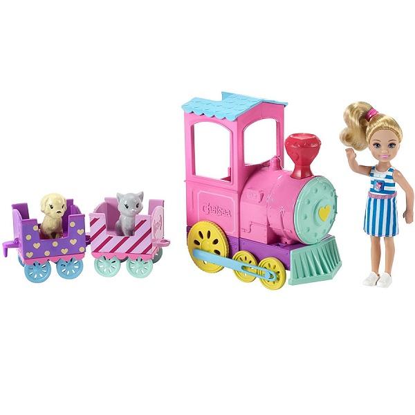 Mattel Barbie FRL86 Барби Паровозик Челси - Куклы и аксессуары