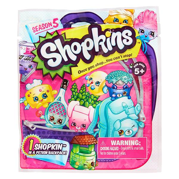 Купить Shopkins 56290 Шопкинс Фольгированный пакетик с 1 героем, Минифигурка Shopkins