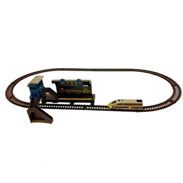 Железная дорога Powertrains&Constructions PowerTrains 62217 ПауэрТрейнс ж/д Станция