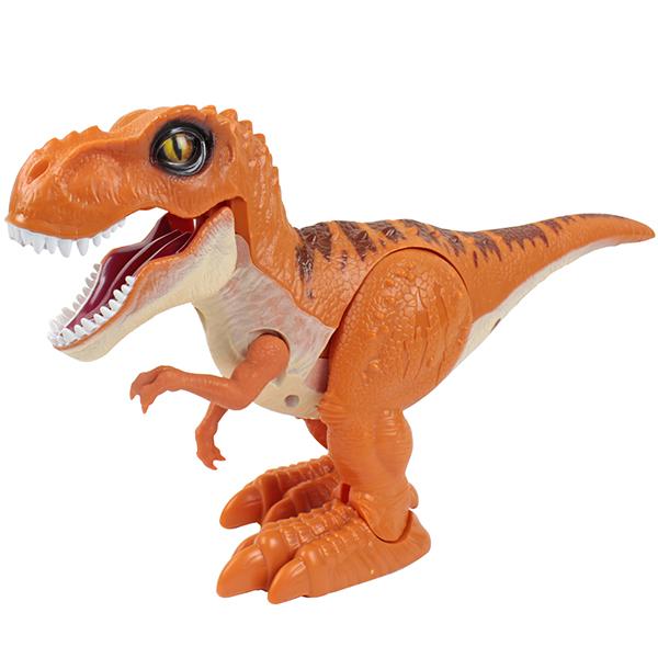 """Интерактивная игрушка Zuru RoboAlive T13694 Игрушка """"Робо-Тираннозавр, оранжевый"""" фото"""
