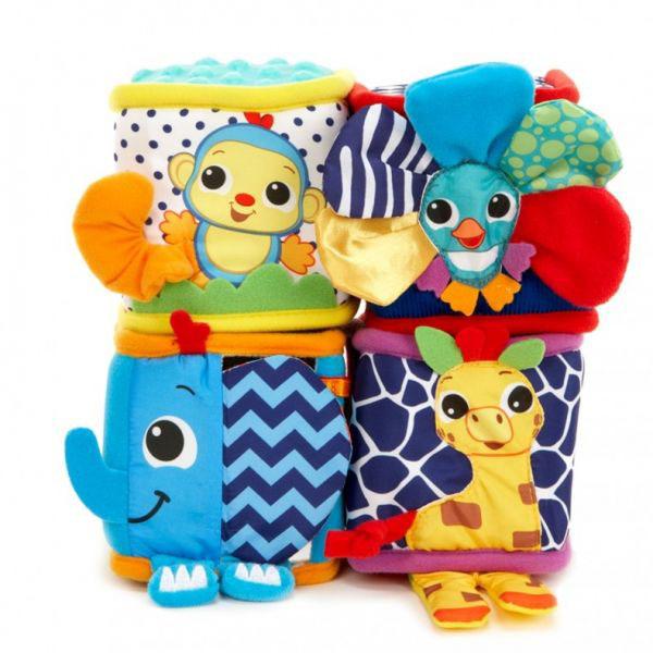 Купить Little Tikes 641350 Литл Тайкс Веселые кубики с зверушками (в ассортименте), Развивающие игрушки для малышей Little Tikes