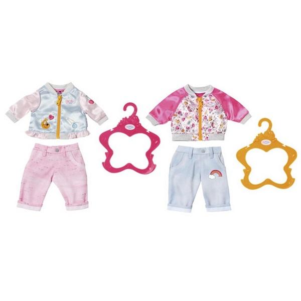 Купить Zapf Creation Baby born 824-542 Бэби Борн Штанишки и кофточка для прогулки, Аксессуары для куклы Zapf Creation
