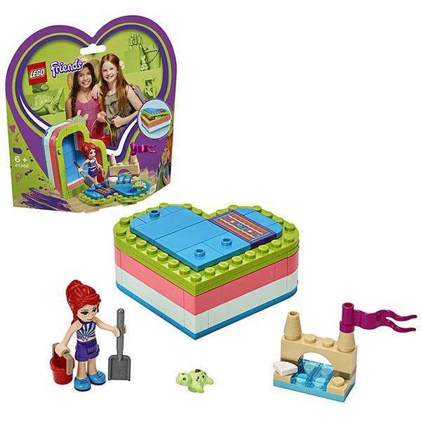 Купить LEGO Friends 41388 Конструктор ЛЕГО Подружки Летняя шкатулка-сердечко для Мии, Конструкторы LEGO