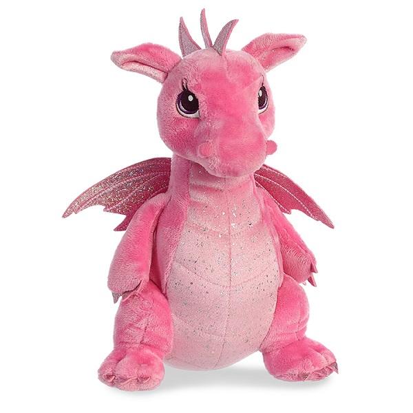 Купить Aurora 170415A Cuddly Friends Дракон розовый, 30 см, Мягкие игрушки Aurora