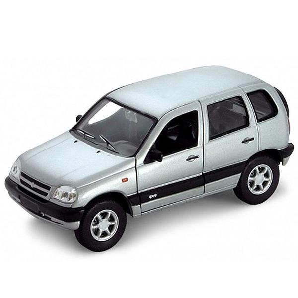 Купить Welly 42379 Велли Модель машины 1:34-39 Chevrolet Niva, Машинка Welly