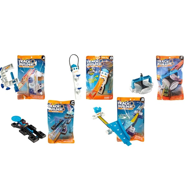 Купить Mattel Hot Wheels DLF01 Хот Вилс Доп. блоки для конструктора трасс (в ассортименте), автотрек Mattel Hot Wheels
