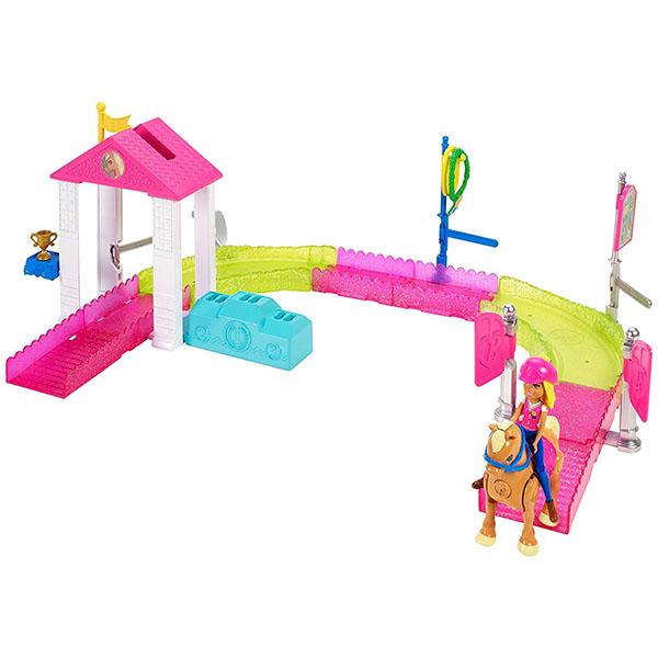 Купить Mattel Barbie FHV66 Барби В движении Игровой набор Скачки , Куклы и пупсы Mattel Barbie