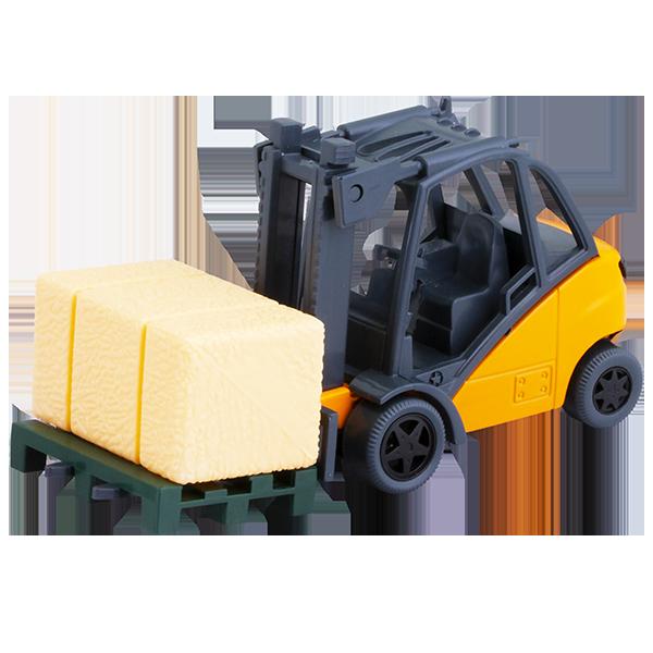 Игрушечные машинки и техника ТМ Wincars — Wincars U1401B-1 Погрузчик с ящиком