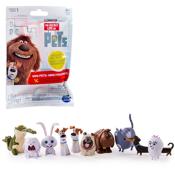 Купить Secret Life of Pets 72800 Тайная жизнь домашних животных Мини-фигурка в мягкой упаковке, Минифигурка Secret Life of Pets