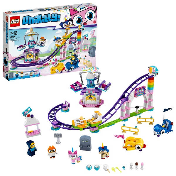 Lego Unikitty 41456 Конструктор Лего Юникитти Весёлая ярмарка Королевства - Конструкторы LEGO