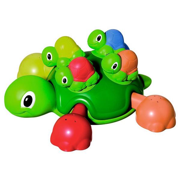TOMY BathToys T72097 Томи Игрушки для ванны Веселые черепашки для ванной